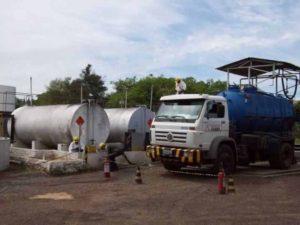 limpeza em tanques de combustíveis
